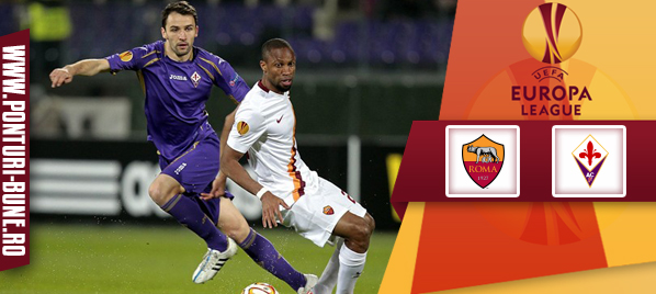 AS Roma vs Fiorentina – Europa League – analiza si pronostic