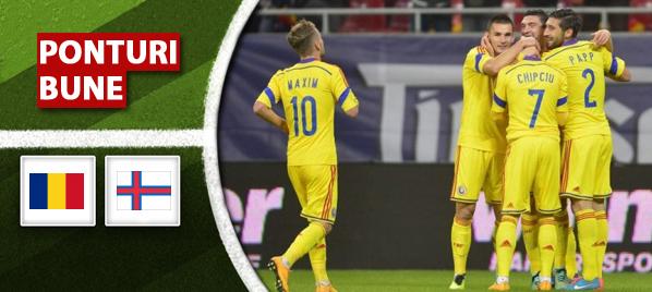 Ponturi Fotbal. 5 pronosticuri pentru Romania – Feroe