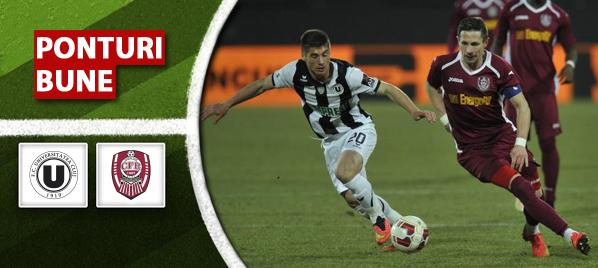 U Cluj vs CFR Cluj