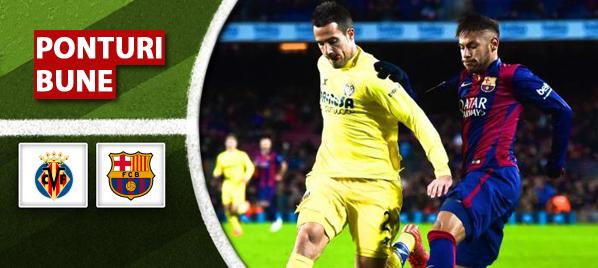 Villarreal vs Barcelona – Copa del Rey – analiza si pronostic