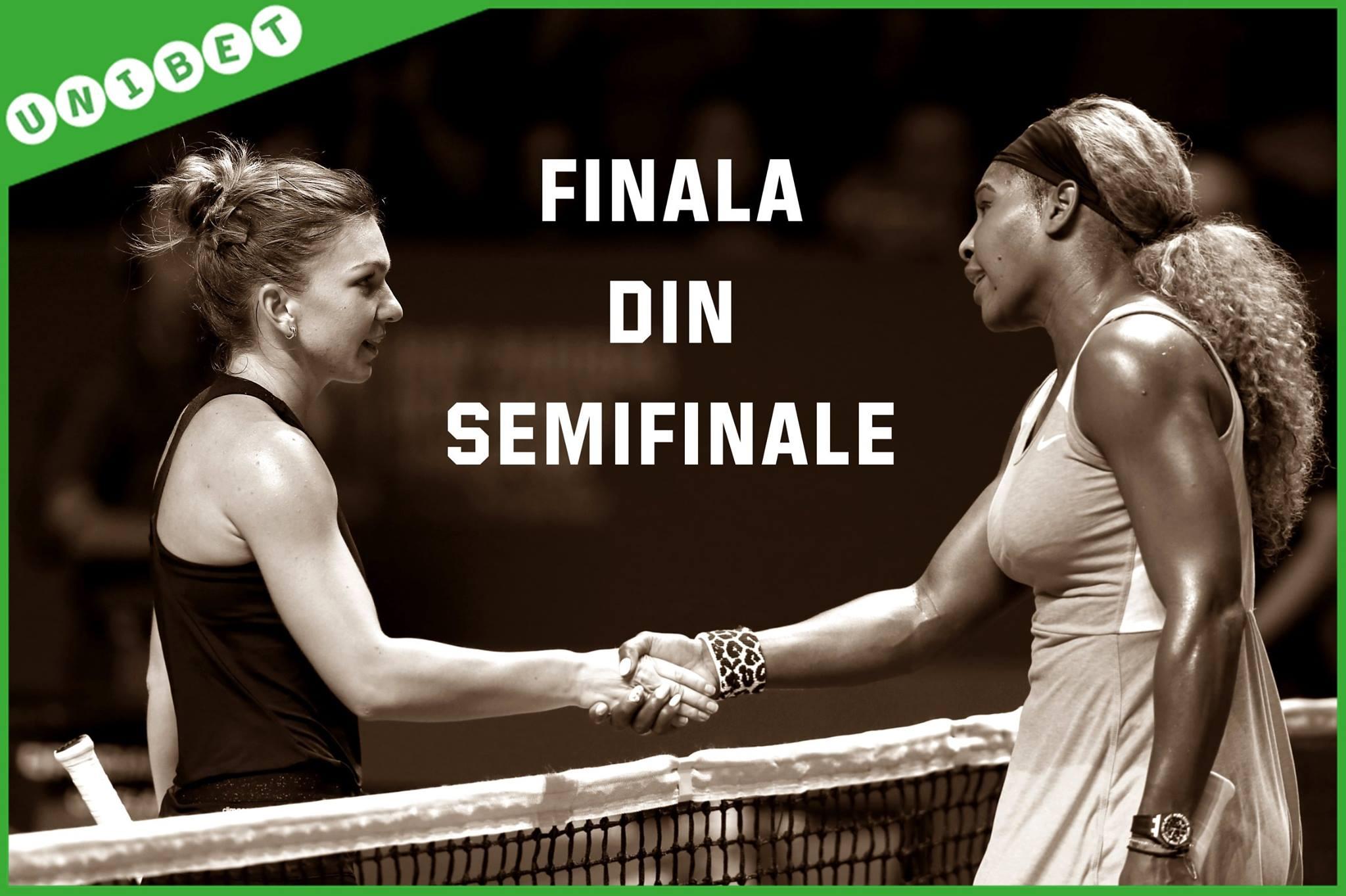 Biletul Zilei (02.04.2015) – Serena Williams vs Simona Halep, ora 04:00, in semifinale la Miami