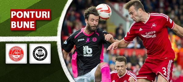 Pariuri fotbal Aberdeen vs Partick – Scotia