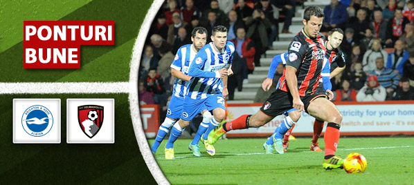 Pronosticuri Fotbal – Brighton vs Bournemouth – Championship