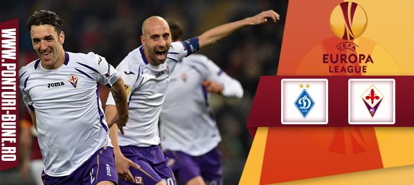 Ponturi fotbal – Dinamo Kiev vs Fiorentina – Europa League