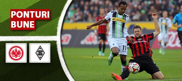 Ponturi pariuri – Frankfurt vs 'Gladbach – Bundesliga