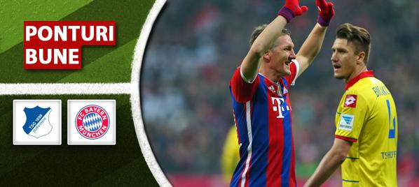 Ponturi pariuri – Hoffenheim vs Bayern – Bundesliga
