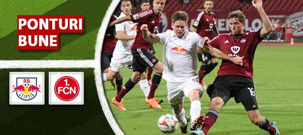 Pariuri fotbal RB Leipzig vs Nurnberg – 2.Bundesliga