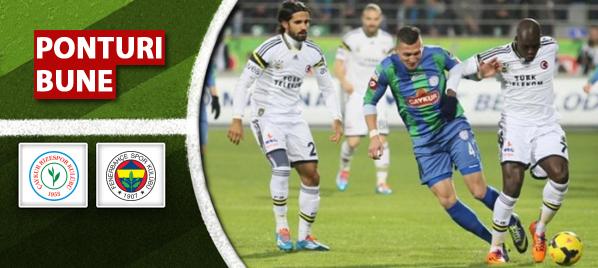 Pariuri fotbal Rizespor vs Fenerbahce – Turcia
