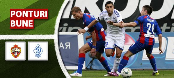 Pariuri fotbal TSKA Moscova vs Dinamo Moscova – Rusia