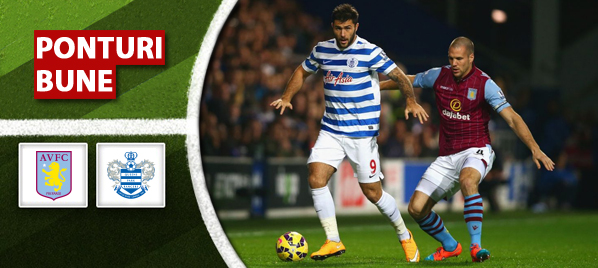 Ponturi pariuri – Aston Villa vs QPR – Premier League