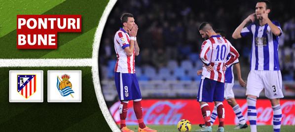 Pronosticuri pariuri – Atletico Madrid vs Real Sociedad – Primera Division