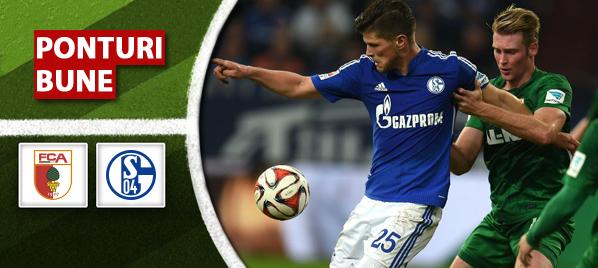 Pronosticuri pariuri – Augsburg vs Schalke – Bundesliga