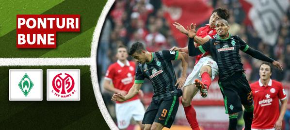 Pronosticuri Fotbal – Werder Bremen vs Mainz 05 – Bundesliga