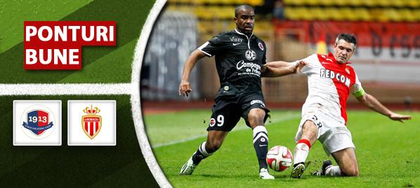 Caen vs Monaco