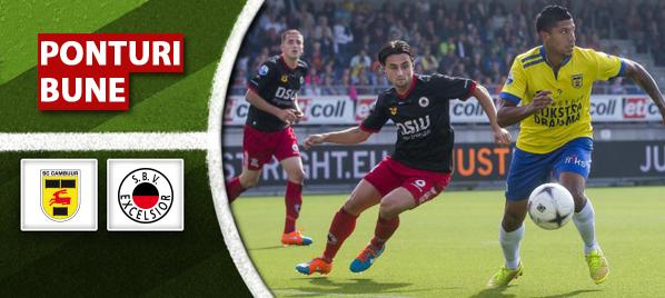 Ponturi fotbal – Cambuur vs Excelsior – Eredivisie