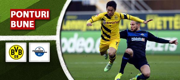Pronosticuri Fotbal – Dortmund vs Paderborn – Bundesliga