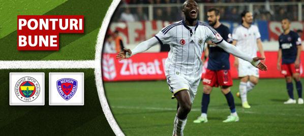 Ponturi pariuri – Fenerbahce vs  Mersin- Cupa Turciei