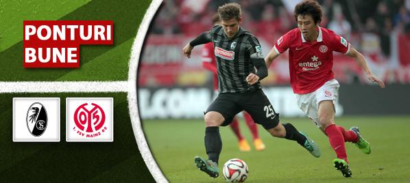 Pariuri fotbal Freiburg vs Mainz – Bundesliga