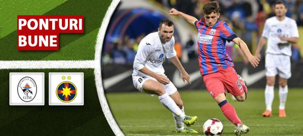 Pronosticuri pariuri Gaz Metan Medias vs Steaua – Liga 1