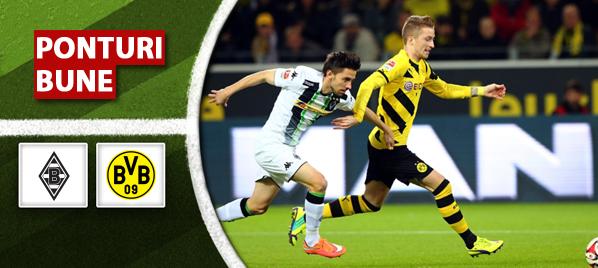 Pont pariuri – Gladbach vs Dortmund – Bundesliga