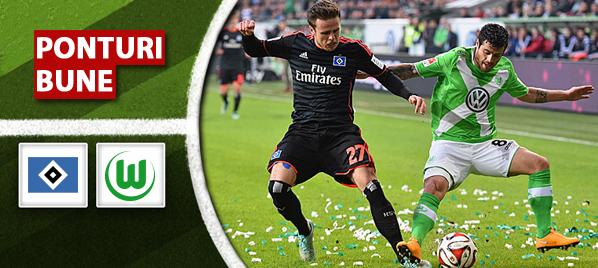 Ponturi fotbal – Hamburger vs Wolfsburg – Bundesliga
