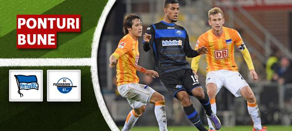 Ponturi pariuri – Hertha vs Paderborn – Bundesliga