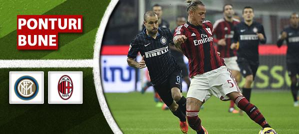 Ponturi fotbal – Inter vs Milan – Serie A