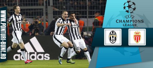 Pronosticuri Fotbal – Juventus vs Monaco – Uefa Champions League