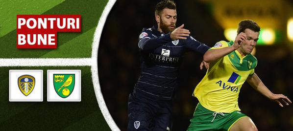 Pariuri fotbal Leeds United vs Norwich City – Championship