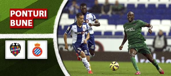 Pronosticuri Fotbal – Levante vs Espanyol – Primera Division