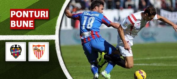 Ponturi pariuri – Levante vs Sevilla – La Liga