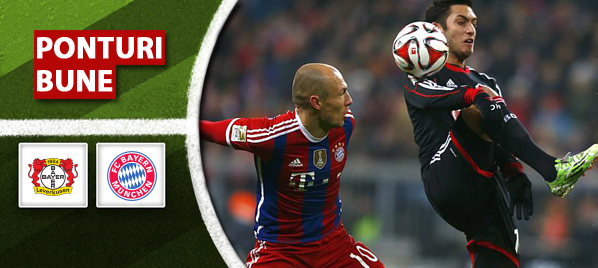 Pariuri fotbal Bayer Leverkusen vs Bayern Munchen – Cupa Germaniei