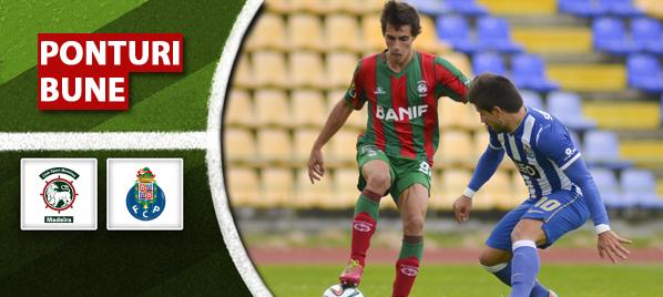 Ponturi pariuri – Maritimo vs FC Porto – Cupa Ligii Portugaliei