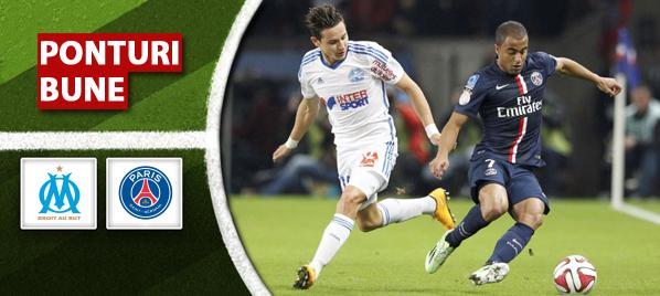 Pronosticuri pariuri – Marseille vs PSG – Ligue 1