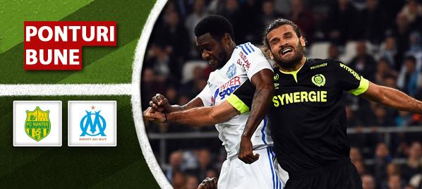 Ponturi pariuri – Nantes vs Marseille – Ligue 1