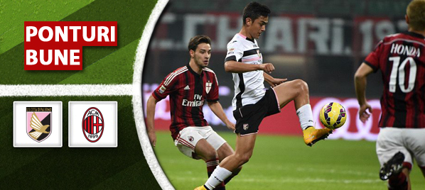 Pronosticuri Fotbal – Palermo vs AC Milan – Serie A