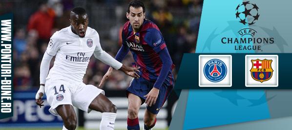 Pariuri fotbal – PSG vs Barcelona – Champions League