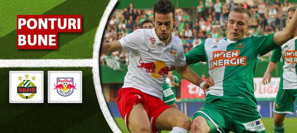 Pariuri fotbal Rapid Viena vs Red Bull Salzburg – Austria