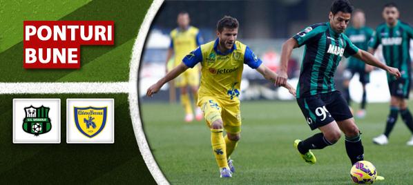 Pariuri fotbal – Sassuolo vs Chievo – Serie A