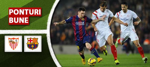 Pariuri fotbal Sevilla vs Barcelona – Primera Division