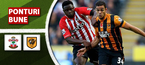 Pont pariuri – Southampton vs Hull – Premier League