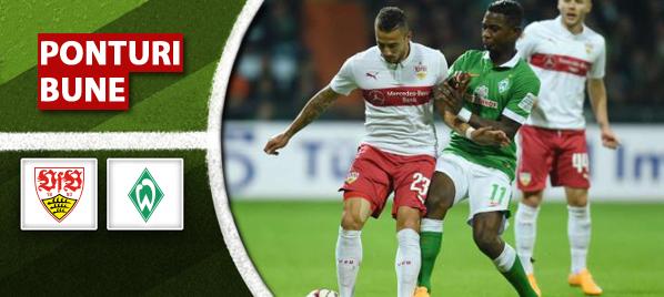 Pariuri fotbal Vfb Stuttgart vs Werder Bremen – Bundesliga