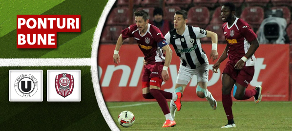Pronosticuri pariuri Universitatea Cluj vs CFR Cluj – Liga 1