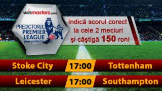 Predictorul Premier League la Winmasters - castiga 150 RON
