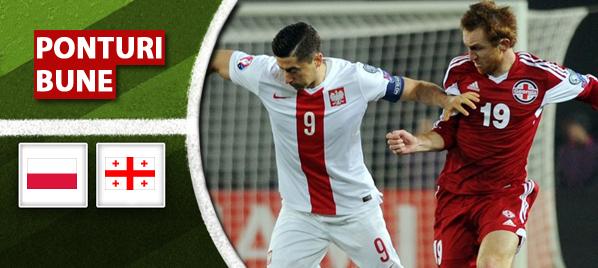 Pariuri fotbal – Polonia vs Georgia – Preliminarii EURO 2016