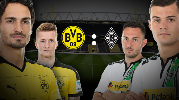 Pont Borussia Dortmund vs Borussia Monchengladbach