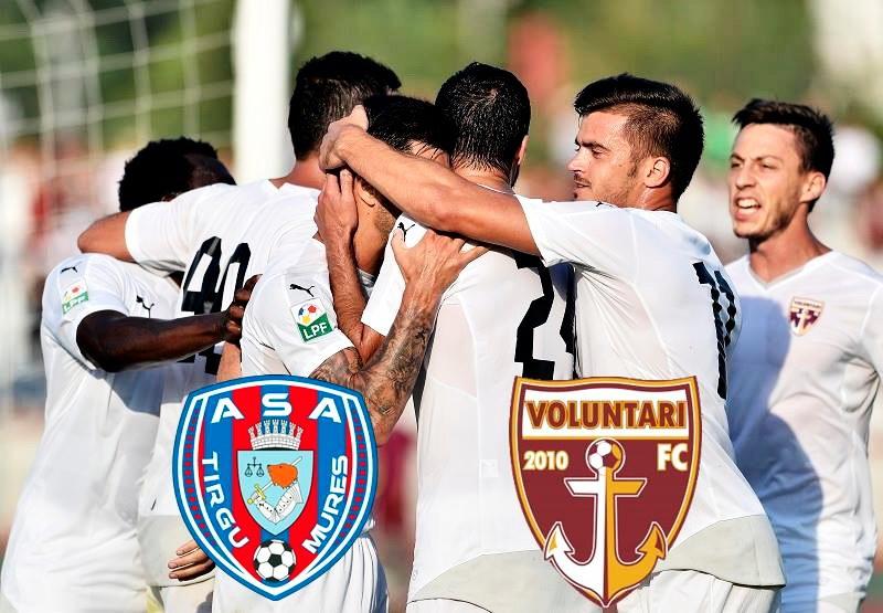 Ponturi pariuri – ASA Targu Mures vs FC Voluntari – Liga 1