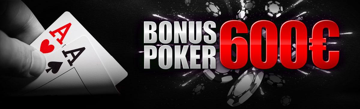 Bonus de pana la 600 € oferit de Winmasters la Poker