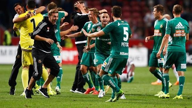 Rapid Viena vs Plzen