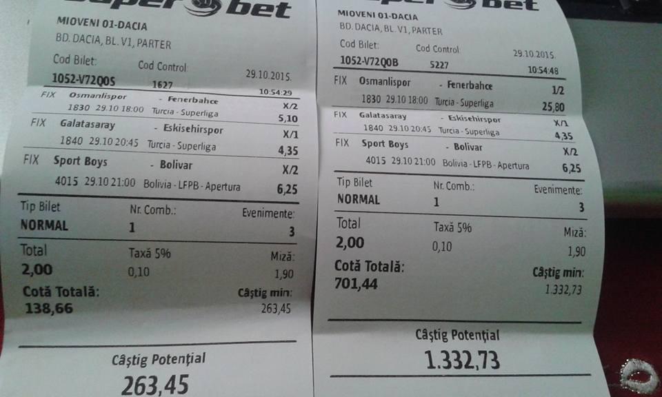 Biletul Zilei : Madalin propune 2 bilete de tip Pauza Final !